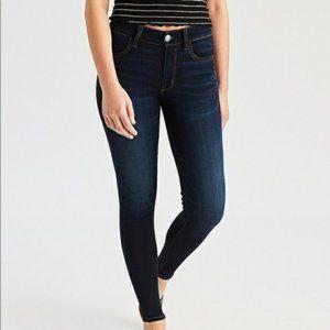 American Eagle Super Skinny Stretch Denim Jeans 8